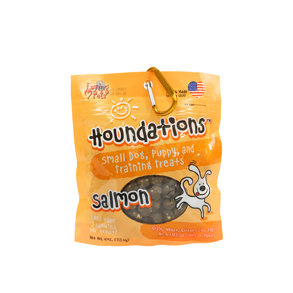 Houndations Salmon Training Treats 4oz