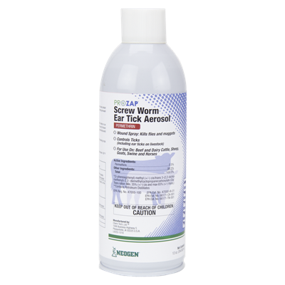 SCREW WORM AEROSOL 12oz PROZAP