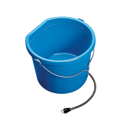 HEATED FLAT-BACK BUCKET 5 GALLON