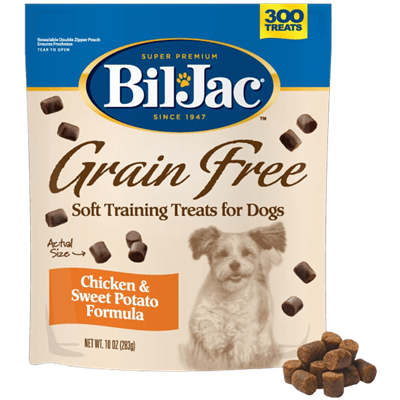 BIL JAC GRAIN FREE DOG TREAT 10 OZ