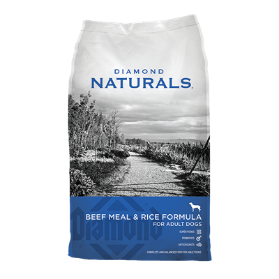 NATURALS BEEF MEAL/RICE 40lb