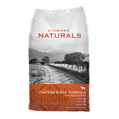 NATURALS CHICKEN/RICE ADULT 40lb
