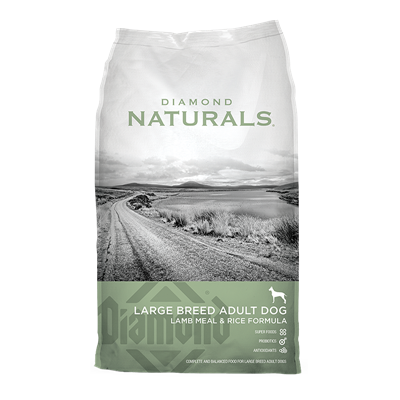 NATURALS LG BREED ADULT LAMB/RICE 40lb