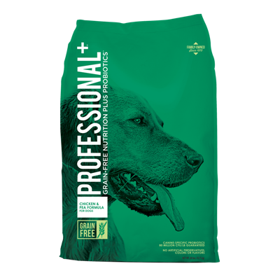 PROFESSIONAL+ GF CHICKEN/PEA DOG 28lb