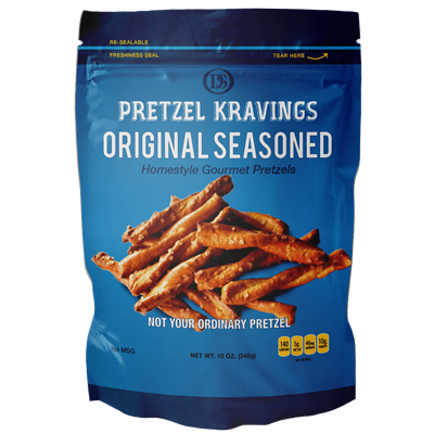 PRETZEL KRAVINGS ORIGINAL 10oz 12ct