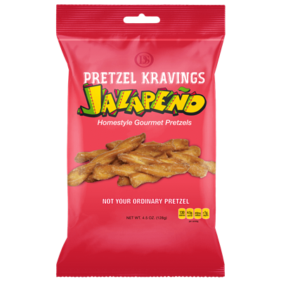 PRETZEL KRAVINGS JALAPENO 4.5oz 6ct