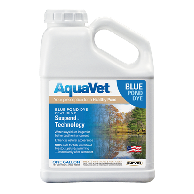 AQUAVET BLUE POND DYE gallon