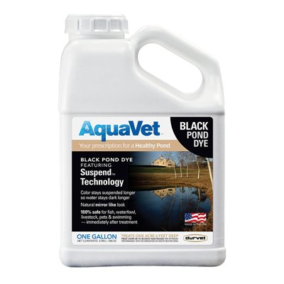 AQUAVET BLACK POND DYE GALLON