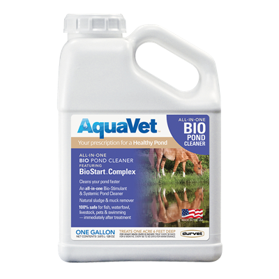 AQUAVET BIO POND CLEANER GALLON