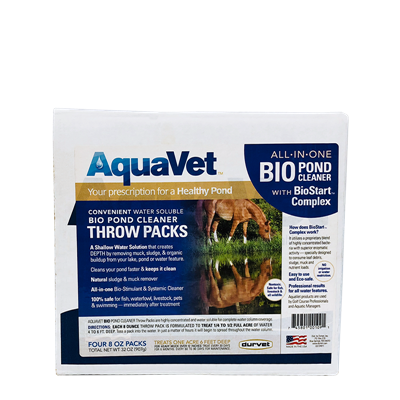 AQUAVET BIO WS THROW PACK 4x8oz