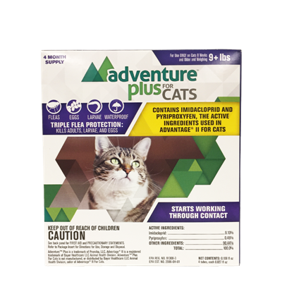 ADVENTURE PLUS FOR CATS OVER 9lbs 4pk