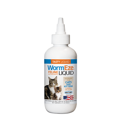 WORMEZE FELINE LIQUID 4oz