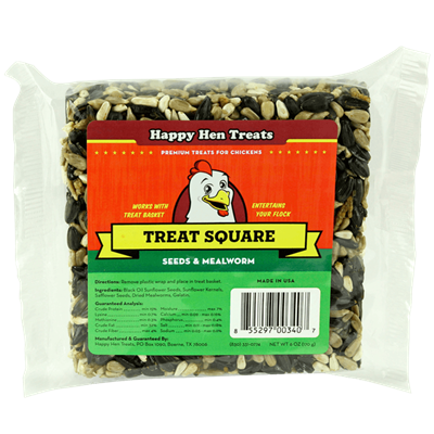 HAPPY HEN TREAT SQUARE SEED 6.5oz