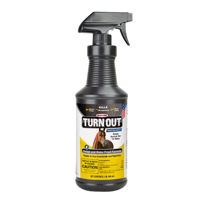 TURN OUT EQUINE FLY SPRAY 32oz