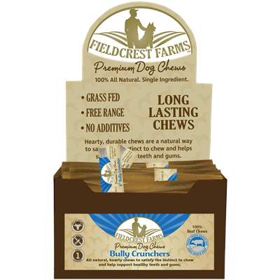FF BULLY CRUNCHERS 6in 30ct