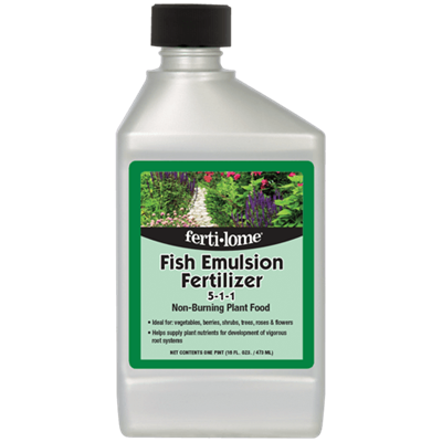 FISH EMULSION PLANT FOOD 16oz