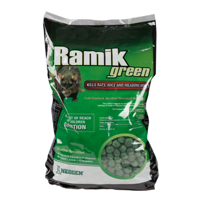 RAMIK GREEN NUGGETS 4 lb POUCH