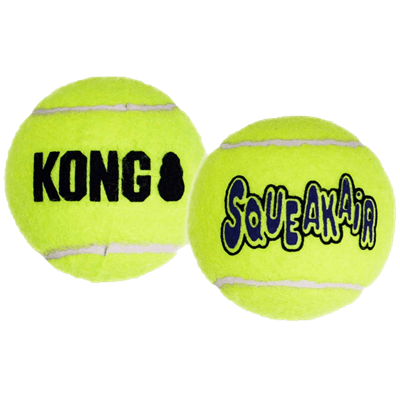 KONG AIR SQUEAKER BALLS LARGE 2 pk