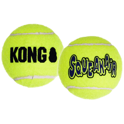 KONG AIR SQUEAKER Tennis Ball 3 pack