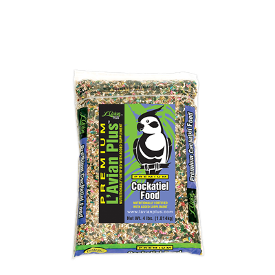 COCKATIEL FOOD 4lb