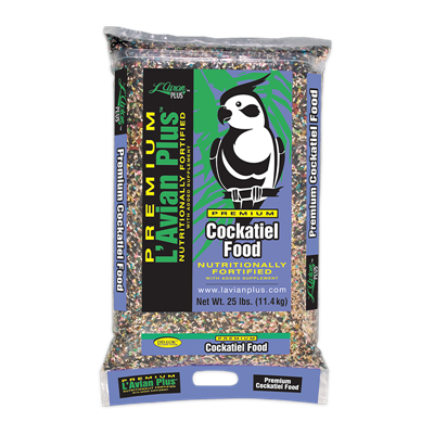 COCKATIEL FOOD 25lb