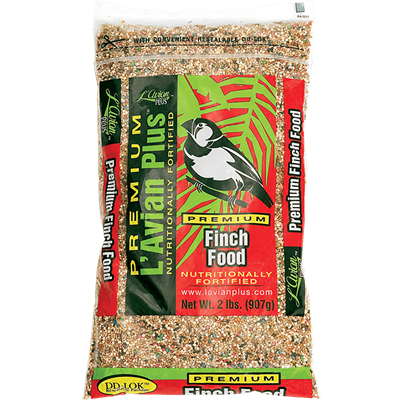 FINCH FOOD FOR EXOTIC FINCHES 2lb