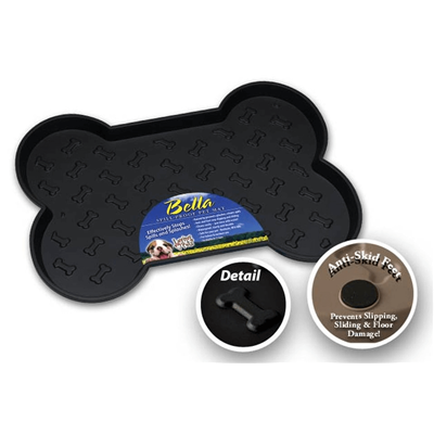 BELLA DOG MAT BLACK SMALL