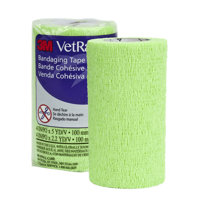 VETRAP LIME GREEN 4in x 5yd