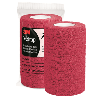 VETRAP RED 4in x 5yd