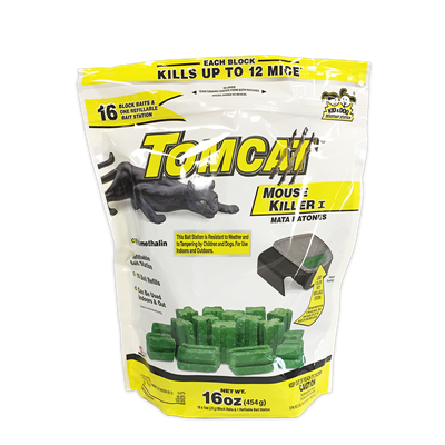 TOMCAT BAIT STATION w/ 16x1oz of BAIT