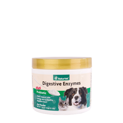 DIGESTIVE ENZYMES and PROBIOTICS 4oz
