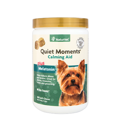QUIET MOMENTS PLUS MELATONIN JAR 180ct