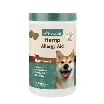 ALLERGY AID HEMP SOFT CHEW 60ct