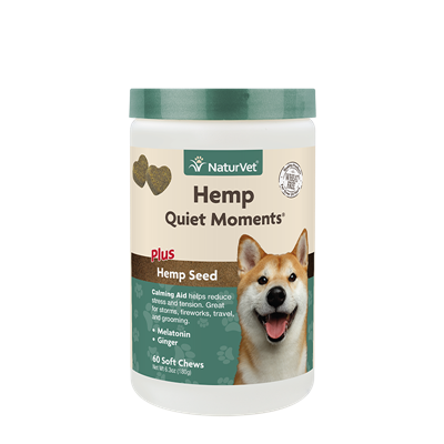 QUIET MOMENTS HEMP SOFT CHEW JAR 60ct