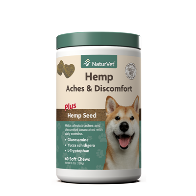 ACHES/DISCOMFORT HEMP SOFT CHEWS 60ct