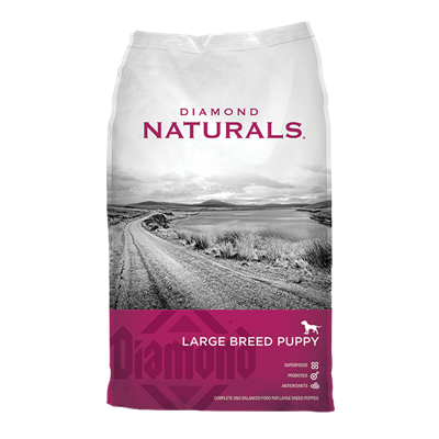NATURALS LAMB/RICE LARGE BRD PUPPY 40lb