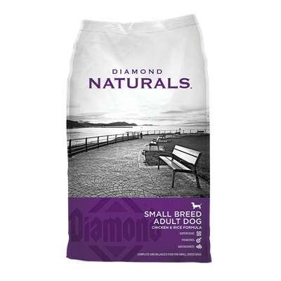 NATURALS SM BREED CHICKEN/RICE 18lb