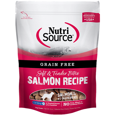 NS GRAIN FREE TREATS SALMON 6oz