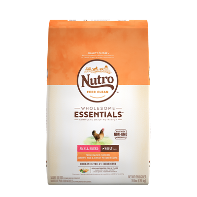 NUTRO SM BREED ADULT CHKN/RICE/SWP 15lb