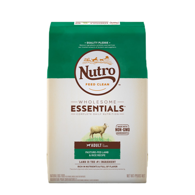 NUTRO LAMB AND RICE 15lb