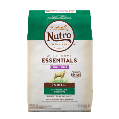 NUTRO SMALL BITES LAMB/RICE 15lb