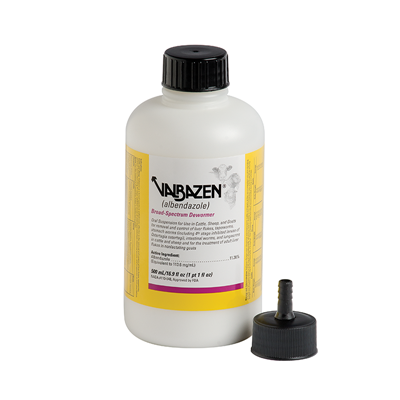 VALBAZEN SUSPENSION 500ml