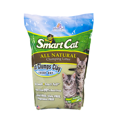 SMART CAT ALL NATURAL LITTER 20lb