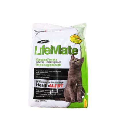 LIFEMATE SCOOPABLE CAT LITTER 33lb
