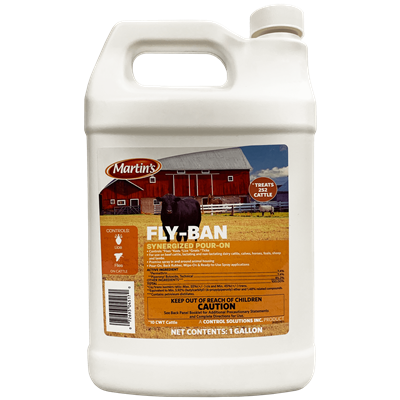 FLY-BAN Synergized Pour-On GALLON