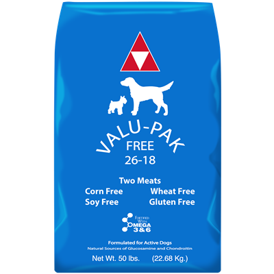 VALUPAK FREE BLUE BAG 26/18 50lb