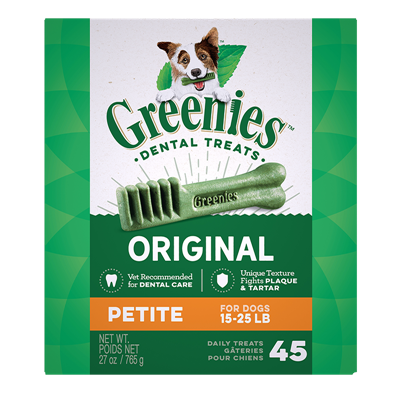 GREENIES TREAT-PAK 27oz PETITE