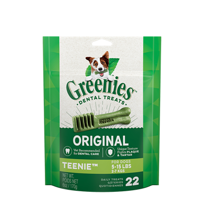 GREENIES TREAT-PAK 6oz TEENIE