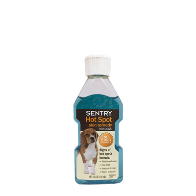 SENTRY HOT SPOT MEDICATION FOR DOGS 4oz