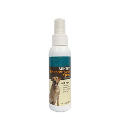 SENTRY Hydrocortisone Spray For DOGS 4oz